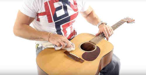 Clean Guitar Body