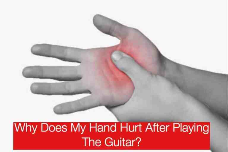 Hand Hurt After Playing Guitar