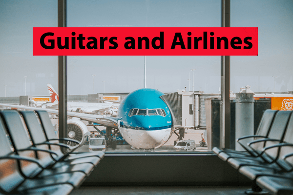 Can you take guitar on airplane
