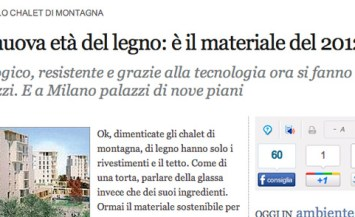 La nuova età del legno sul Corriere.it