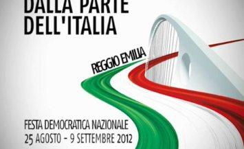 Siamo presenti alla Festa Democratica di Reggio Emilia.
