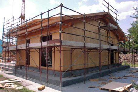 beinette casa privata in legno bbs - cantiere