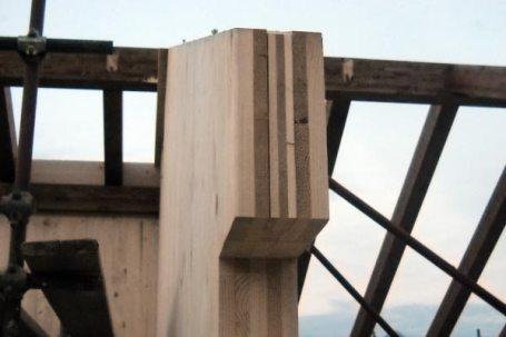 buttigliera montaggio tetto villette legno bbs