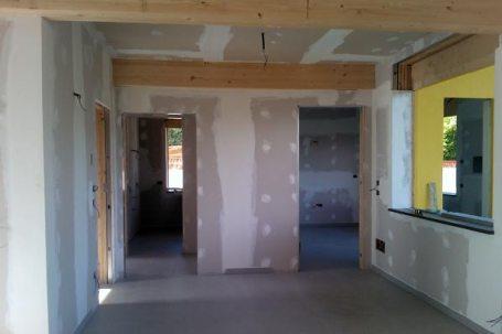 buttigliera casa privata legno costruzione