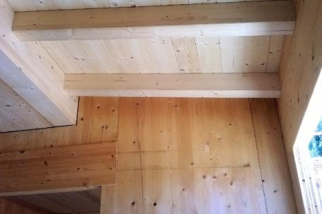Costuzione casa in legno bbs in Liguria - Cogorno 05