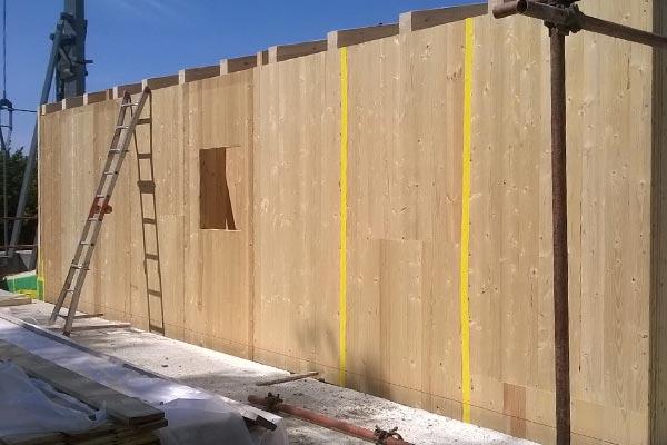 Costuzione casa in legno bbs in Liguria - Cogorno 06
