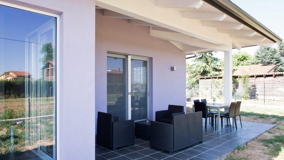 Casa in legno xlam BBS Cherasco Cuneo localita Picchi - esterno 03
