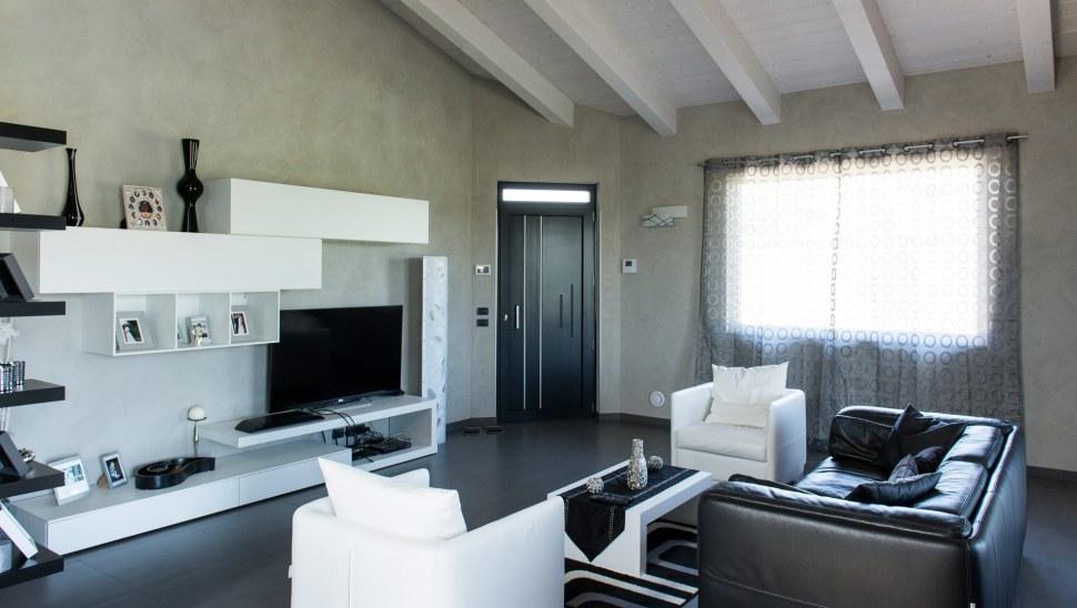 Casa in legno xlam BBS Cherasco Cuneo localita Picchi - interno 06