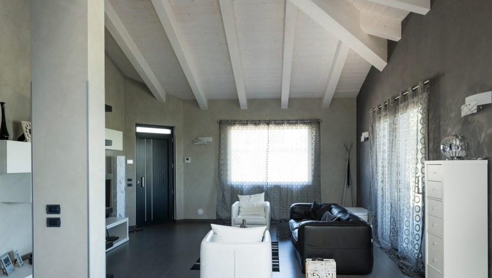 Casa in legno xlam Cherasco Cuneo localita Picchi - interno 05