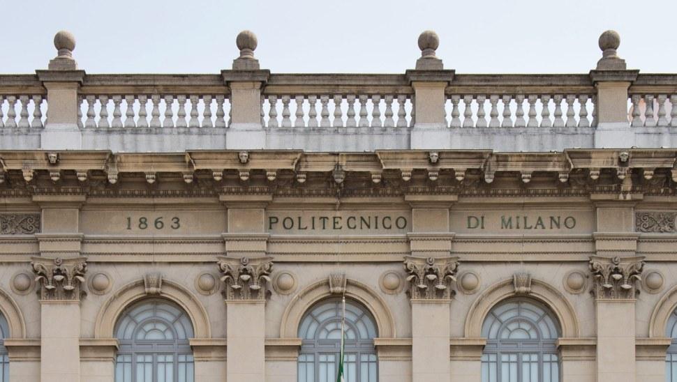 Politecnico Milano - Facciata