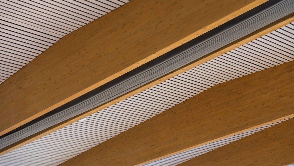 Copertura in legno lamellare Polivalente Brescia Via Collebeato 06 - Mozzone Building System