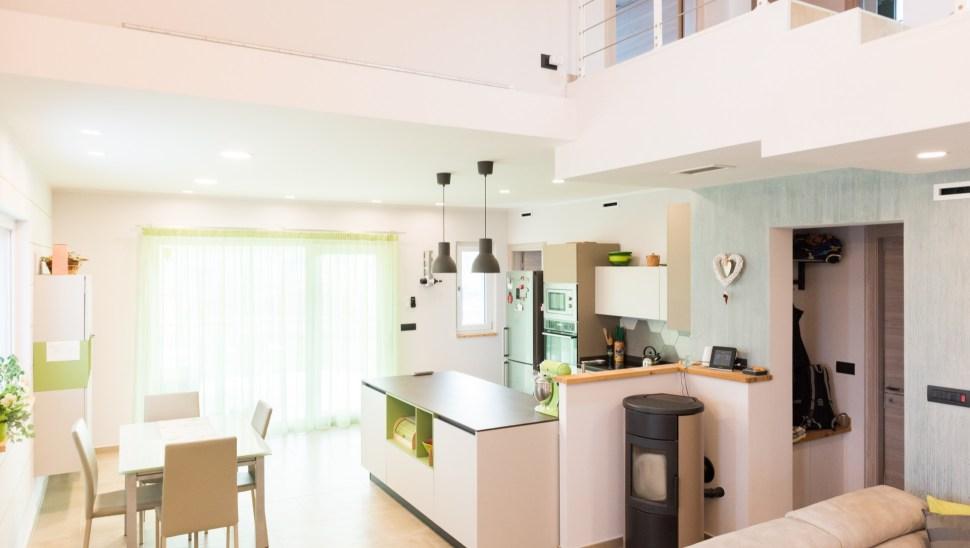 Villetta legno xlam Beinette-44 - Mozzone Building System