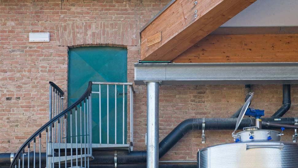 Copertura in legno lamellare cantine-Ceretto-05 - Mozzone Building System
