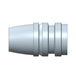 429244 hollow point mold gas check
