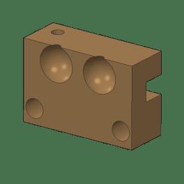 Round ball molds