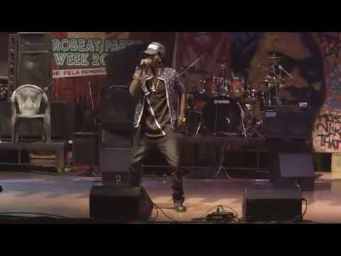 PACE FELA VIDEO: Pace Performs at Fela Anikulapo Remembrance Concert
