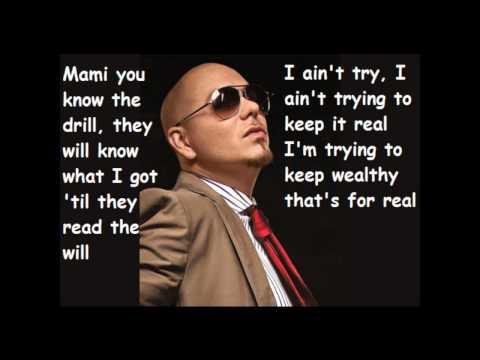 Pitbull ft. Marc Antony - Rain Over Me Lyrics mp3 letöltés