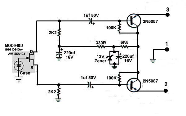 Phantom Power Circuit