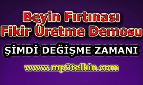 mp3telkin-youtube-beyin-firtinasi-fikir-uretme-demosu