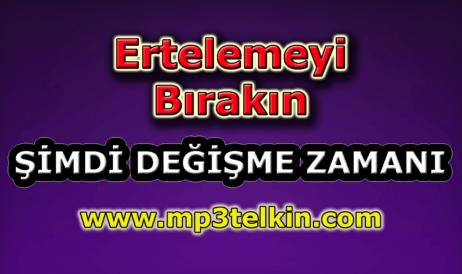 mp3telkin-youtube-ertelemeyi-birakin