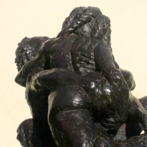 the kiss bronze