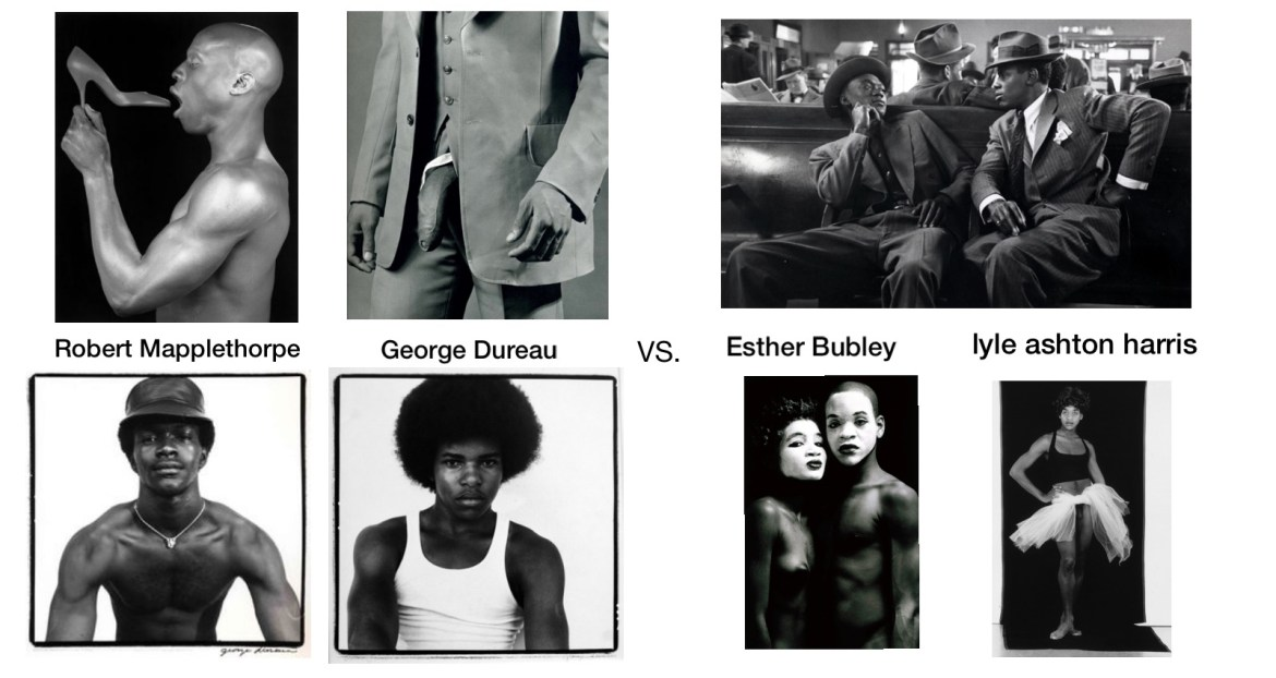 Robert Mapplethorpe, lyle ashton harris, George Bureau | bell hooks art on my mind