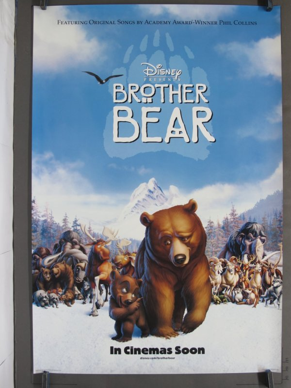 Brother Bear 2003 Ds Teaser -sheet Poster