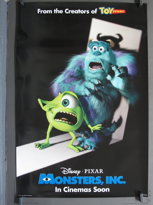 monsters inc 2001 ds spotlight teaser one sheet poster