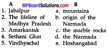 MP Board Class 8th Special English Chapter 4 The Narmada The Lifeline of Madhya Pradesh 1