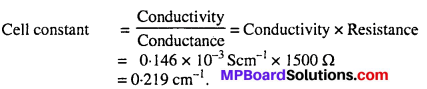 MP Board Class 12th Chemistry Solutions Chapter 3 Electrochemistry 26