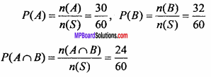 MP Board Class 11th Maths Important Questions Chapter 16 Probability 5