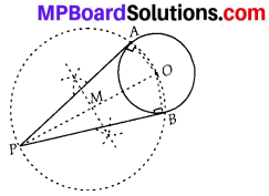 MP Board Class 10th Maths Solutions Chapter 11 Constructions Ex 11.2 1