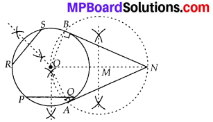 MP Board Class 10th Maths Solutions Chapter 11 Constructions Ex 11.2 8