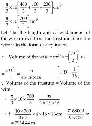 MP Board Class 10th Maths Solutions Chapter 13 Surface Areas and Volumes Ex 13.4 10