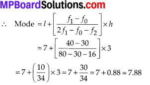 MP Board Class 10th Maths Solutions Chapter 14 Statistics Ex 14.3 17