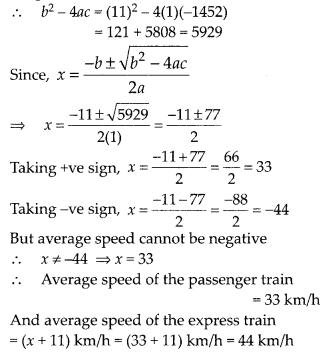 MP Board Class 10th Maths Solutions Chapter 4 Quadratic Equations Ex 4.3 23