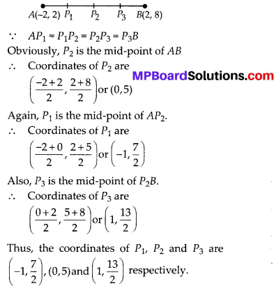 MP Board Class 10th Maths Solutions Chapter 7 Coordinate Geometry Ex 7.2 12