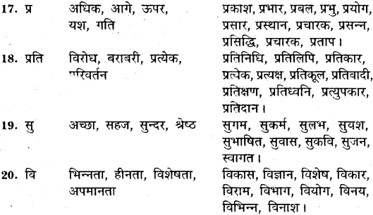 MP Board Class 11th General Hindi व्याकरण उपसर्ग img-3