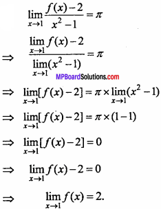 MP Board Class 11th Maths Important Questions Chapter 13 Limits and Derivatives 35