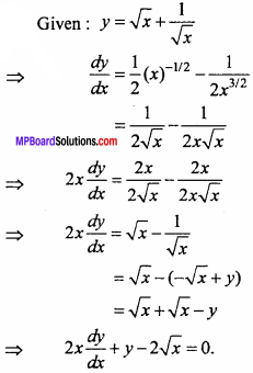 MP Board Class 11th Maths Important Questions Chapter 13 Limits and Derivatives 44