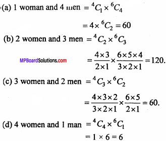 MP Board Class 11th Maths Important Questions Chapter 7 Permutations and Combinations 16