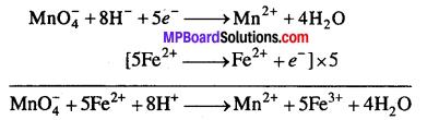 MP Board Class 12th Chemistry Solutions Chapter 8 d एवं f-ब्लॉक के तत्त्व - 11