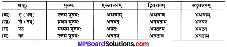MP Board Class 6th Sanskrit Solutions Chapter 12 रामचरितम् 1