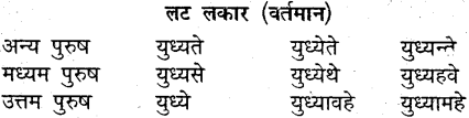 MP Board Class 9th Sanskrit व्याकरण धातु और क्रिया img-27