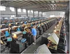 Automatic machining workshop