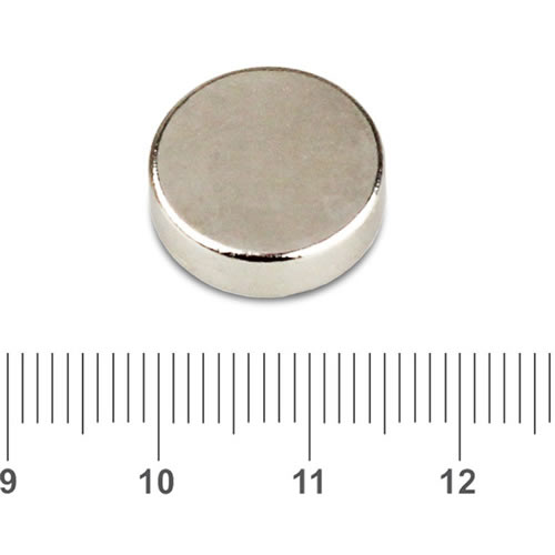15mm x 5mm Strong Sintered NdFeB Round Magnet N45 Ni