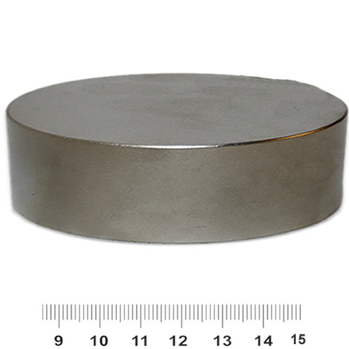 100mm x 30mm Huge Disc Strongest Neodymium Magnet N52 Ni