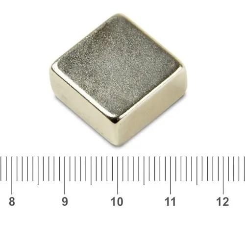 20 x 20 x 10mm NdFeB Square Magnets
