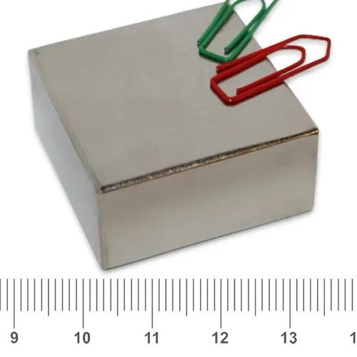 40 x 40 x 20mm Square Power NdFeB Magnet N40 Ni