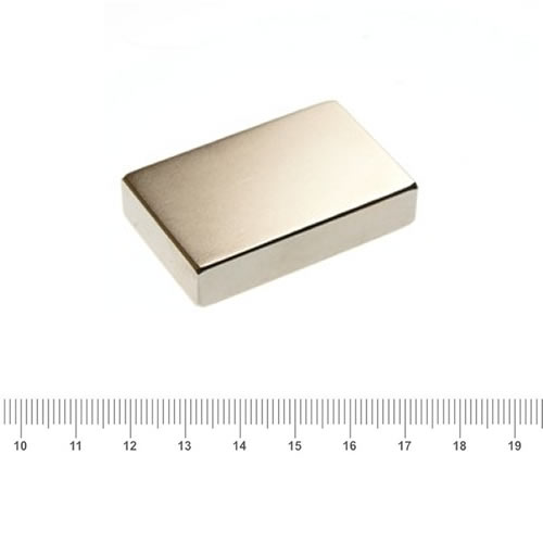 46 x 30 x 10mm NdFeB Super Strong Magnet N40 Ni